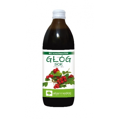 GŁÓG sok 500ml- Altermedica